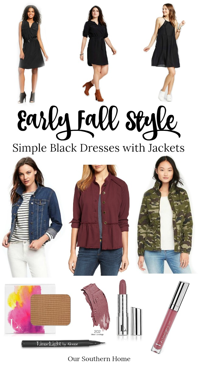 Early Fall Fashion Finds to transition from summer to fall. Summer dresses can easily be paired with jackets and booties for a new look!