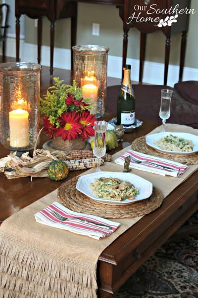 Sausage and Asparagus Pasta Date Night