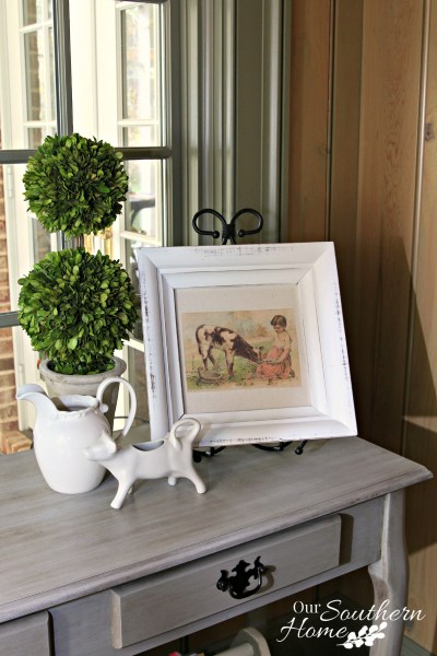 Farmhouse Art Makeover