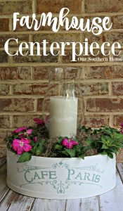 Farmhouse Style Centerpiece