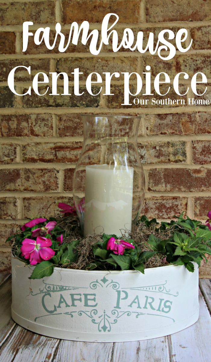 French Farmhouse Centerpiece by Our Southern Home