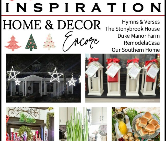 christmas ideas for the home graphic with collages
