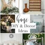 collage of home decor with text overlay