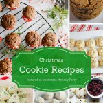 Christmas cookie recipes are the features from this week's Inspiration Monday link party!