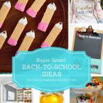 Back to School Ideas are the features for this week's Inspiration Monday link party!