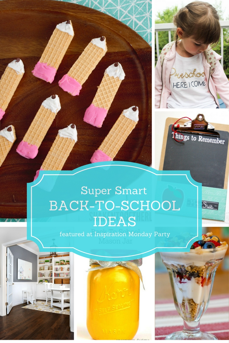 Back to school ideas our southern home for Back to school decoration