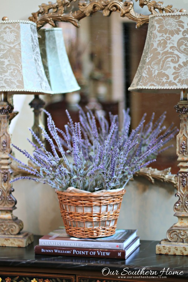 Month 3 in One space, three ways decorating challenge with tips on using what you have by Our Southern Home