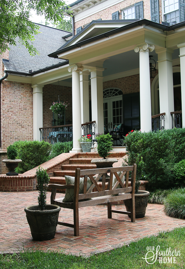 Outdoor Living Summer Tour - Our Southern Home on Southern Outdoor Living id=75698