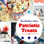Patriotic treats to celebrate!! via Our Southern Home