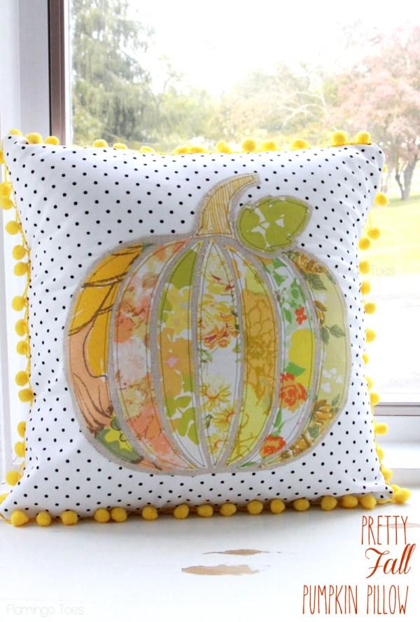 Pretty-Fall-Pumpkin-Pillow