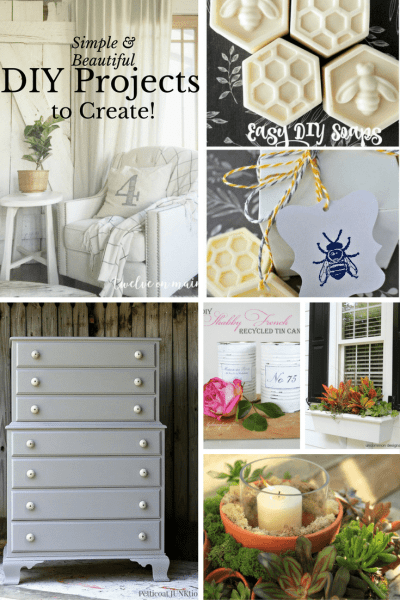 Simple and Beautiful DIY Projects to Create