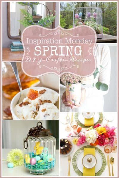 Spring DIY, Craft and Recipe Ideas