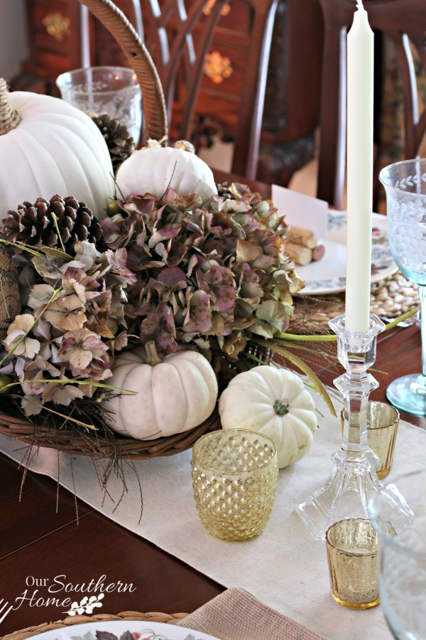 Thanksgiving tablescape for 2015 by our southern home 13
