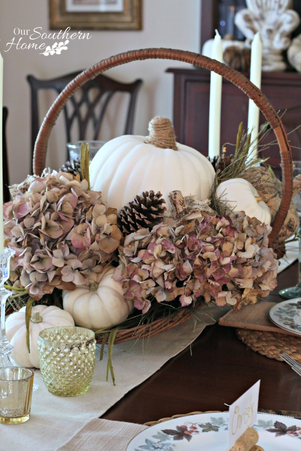 Thanksgiving tablescape for 2015 by our southern home 16