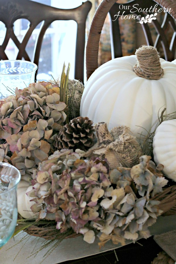 Thanksgiving tablescape for 2015 by our southern home 9