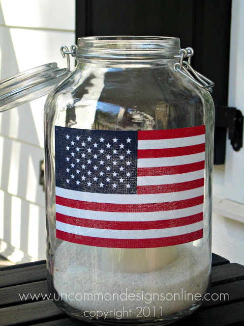 Uncommon 4th of July Flag Porch Pillow 4 2011