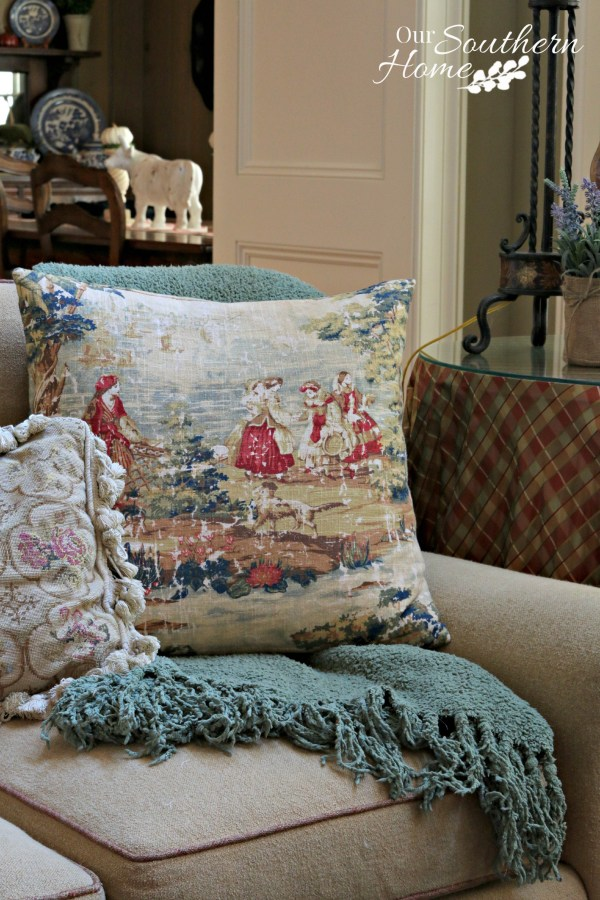 Cozy At Home Decorating - Our Southern Home