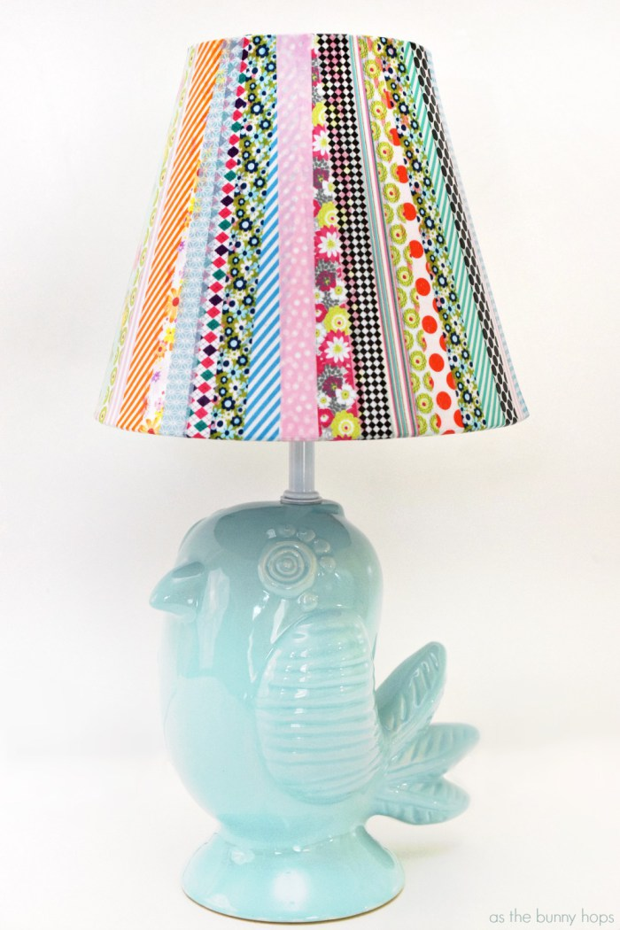 Washi-Tape-Lampshade-Lamp