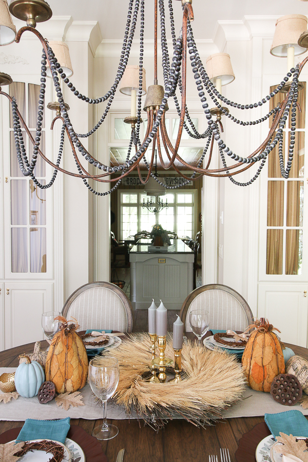 dining table for fall