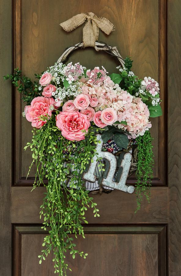 Basket Wreath Makeover