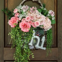 Basket Wreath Makeover