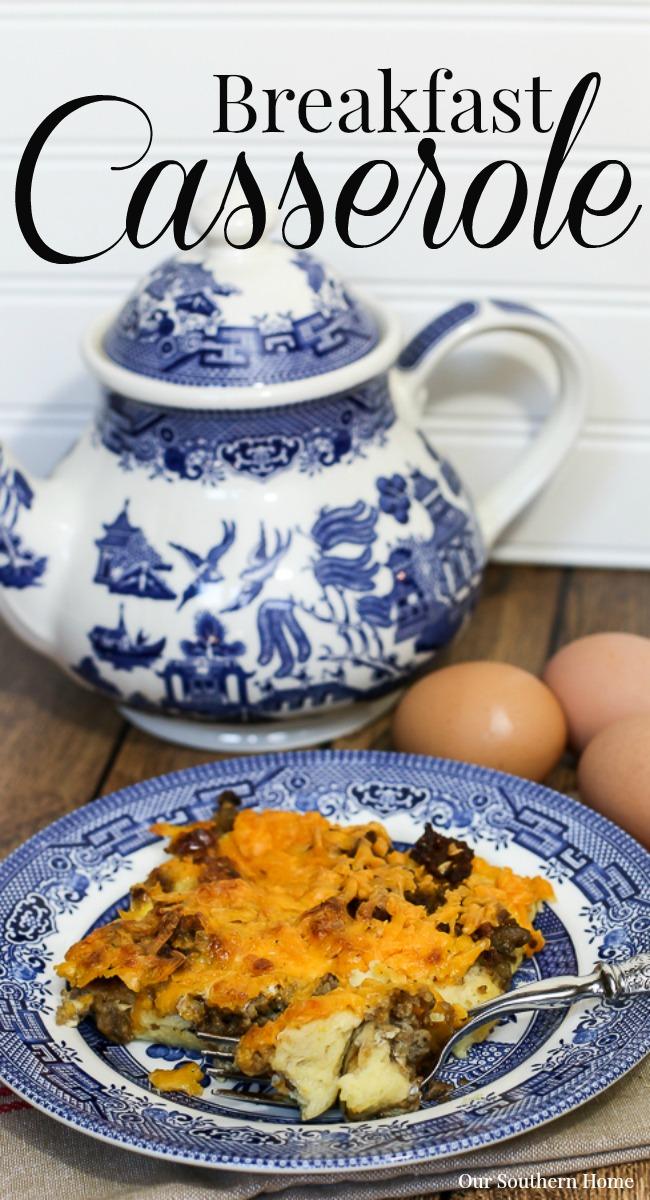 Christmas Kitchen and Breakfast Casserole