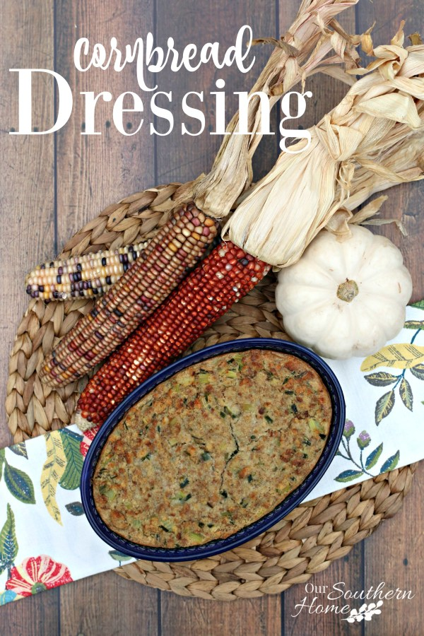 Cornbread Dressing Recipe using College Inn broth found at Walmart. #ad #POURLOVEINN
