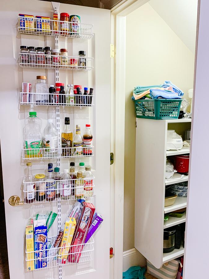pantry door rack