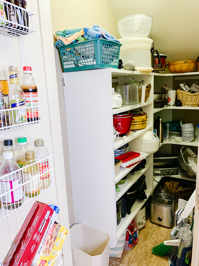 before photo of pantry