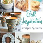 Fall recipe and craft inspiration from Inspiration Monday link party!