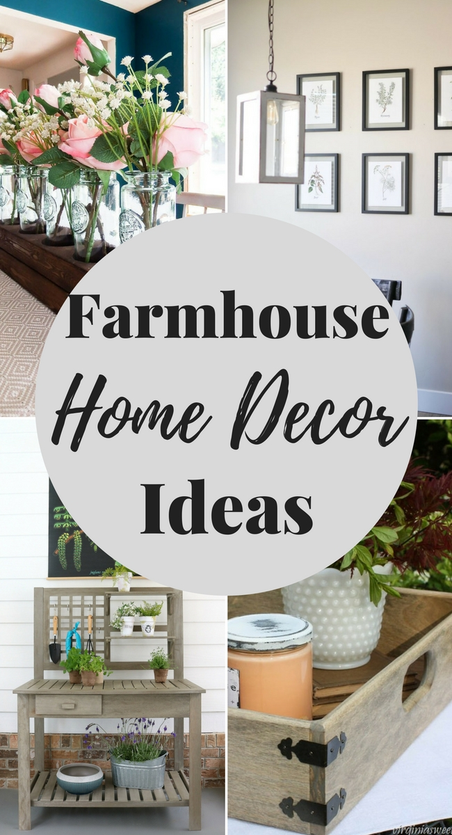 Eight Farmhouse Decorating Ideas - Our Southern Home