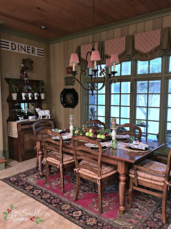 french farmhouse christmas kitchen by our southern home 7 10 59 PM