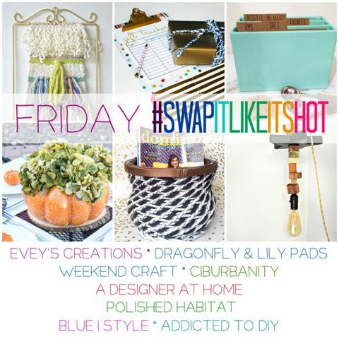 Join us for #SwapItLikeItsHOT for fabulous thrift store makeovers!