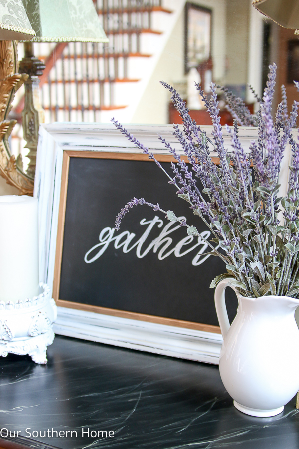 Chalkboard Wall Art chalkboard wall art - our southern home