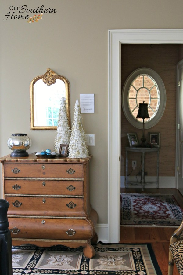 Guest bedroom updates at Our Southern Home
