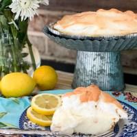 Einfach köstliche Zitronen-Baiser-Torte