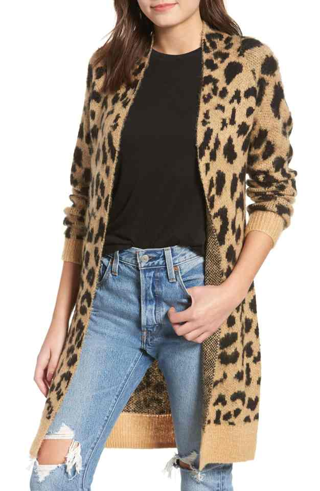 lady in leopard