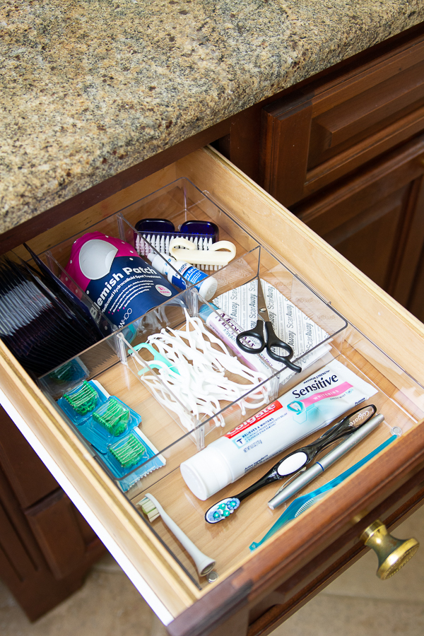 bathroom drawer