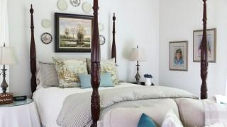 Neue Bettwäsche für das Hauptschlafzimmer