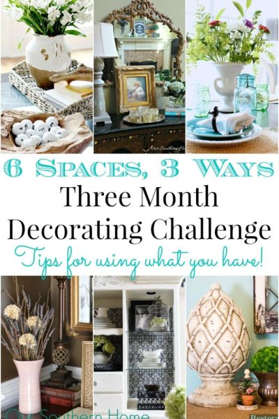 Shopping Your Home {Three Month Challenge} Part 2