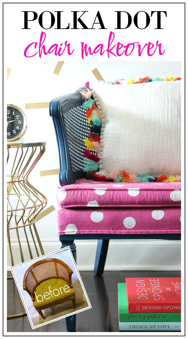 polka-dot-chair-makeover