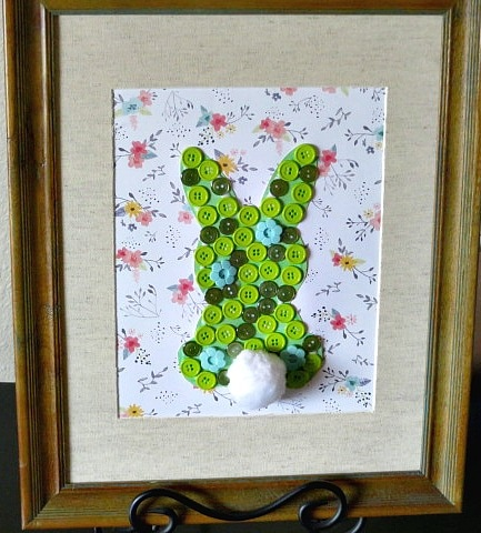 Easter Button Bunny Tutorial {Inspiration Monday Features}