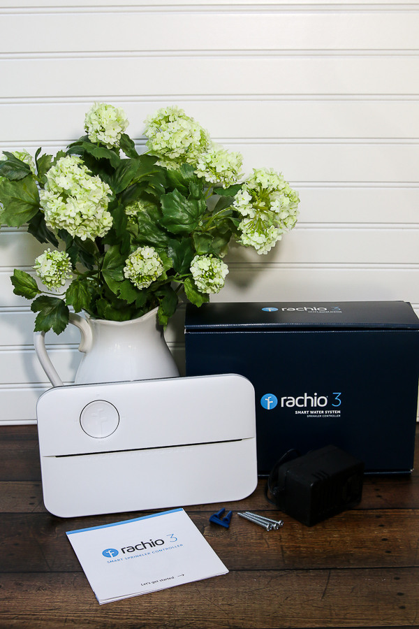 Smart sprinkler controller, Rachio 3, is just what you need to maintain a beautiful yard and landscape from your smartphone! #ad #rachio
