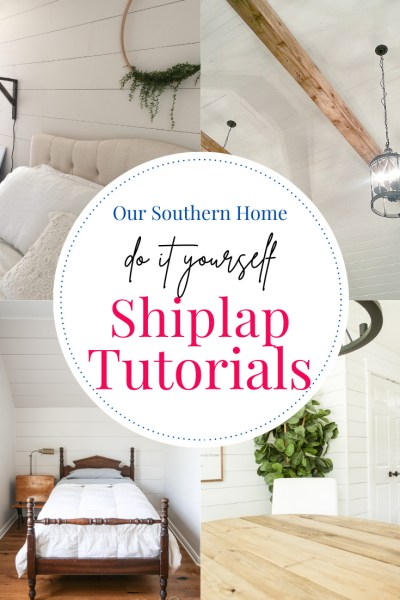 shiplap rooms