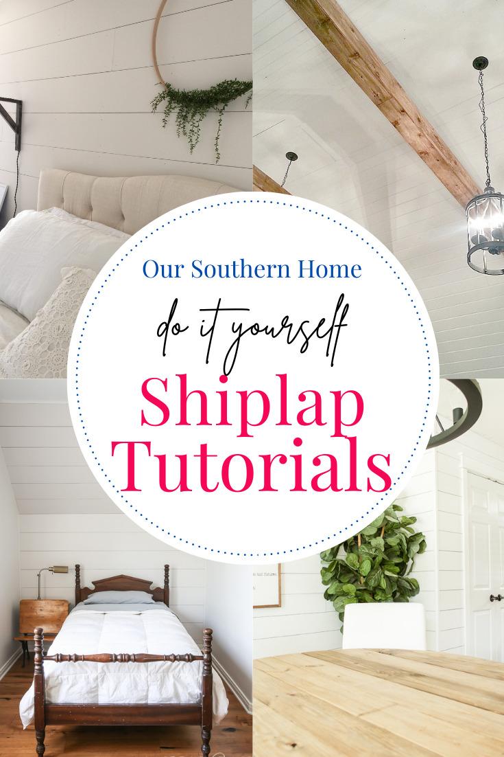 shiplap rooms