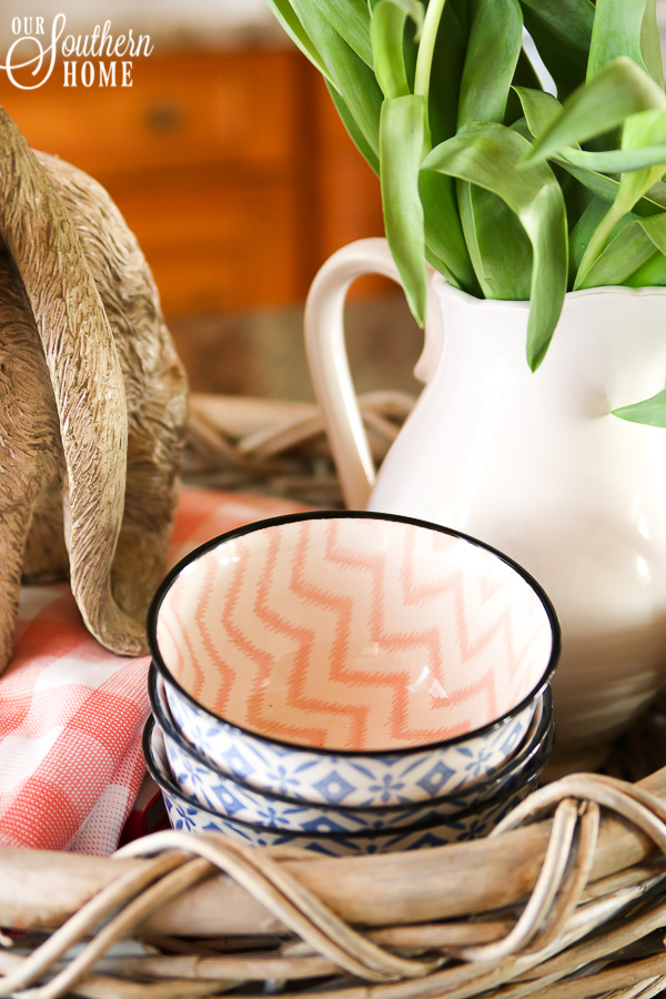 Spring Decorating ideas with baskets and more from the Decorating Enthusiast Team