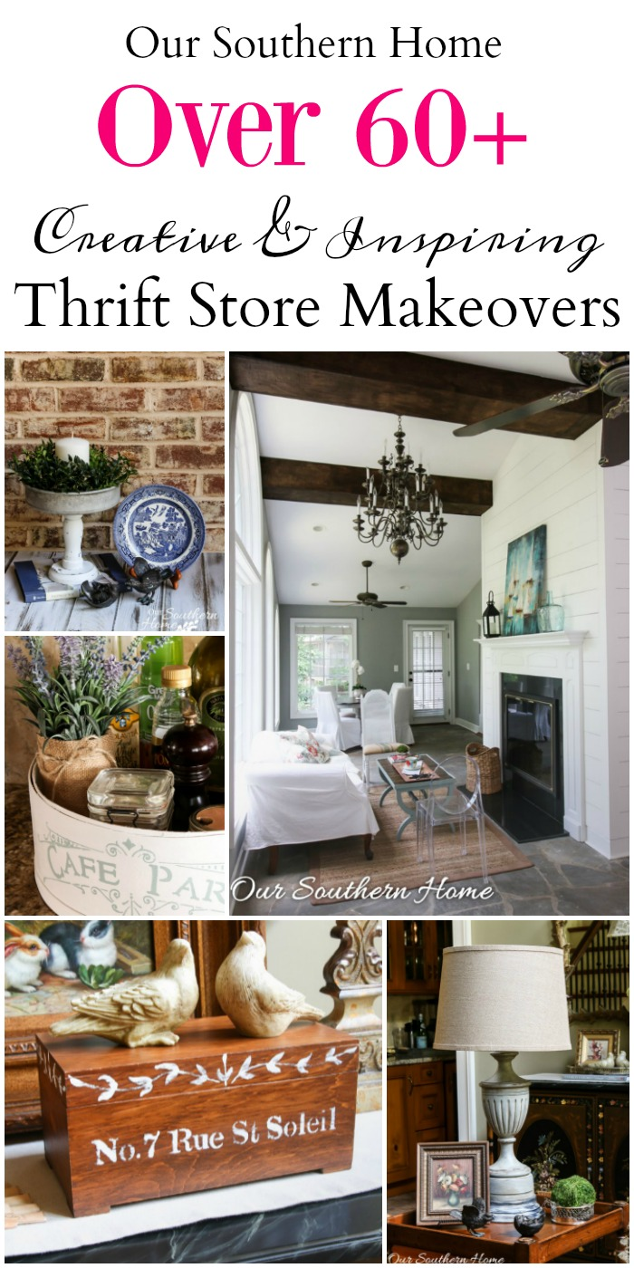 Thrifty Home Decor Makeovers Our Southern Home Home Decorators Catalog Best Ideas of Home Decor and Design [homedecoratorscatalog.us]
