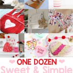 Valentine's Day Craft Ideas are the features for this week's Inspiration Monday link party!