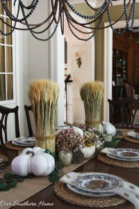 Woodland Fall Tablescape