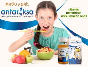 madu antariksa penambah nafsu makan anak